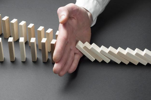 Risque clients et effet Domino